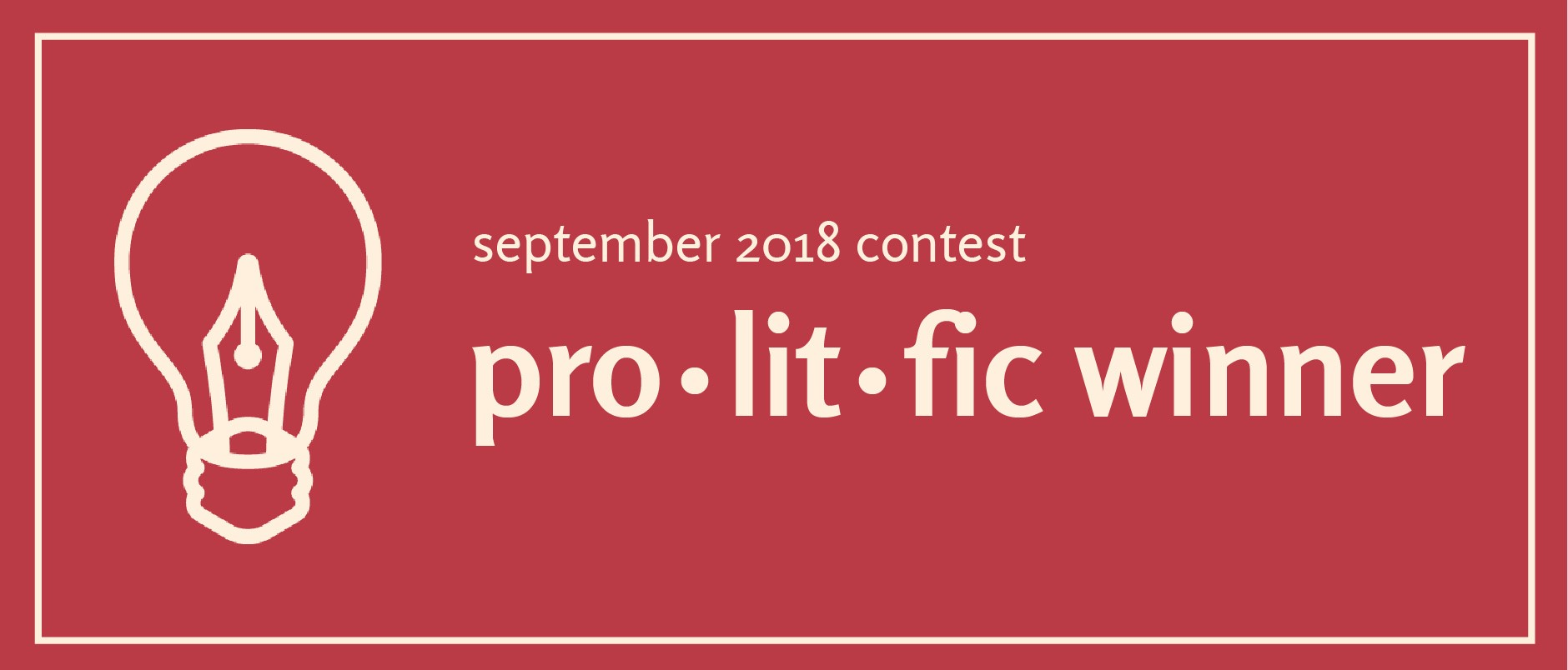 I won a small potatoes prize in 2018! Read at  Prolitfic .