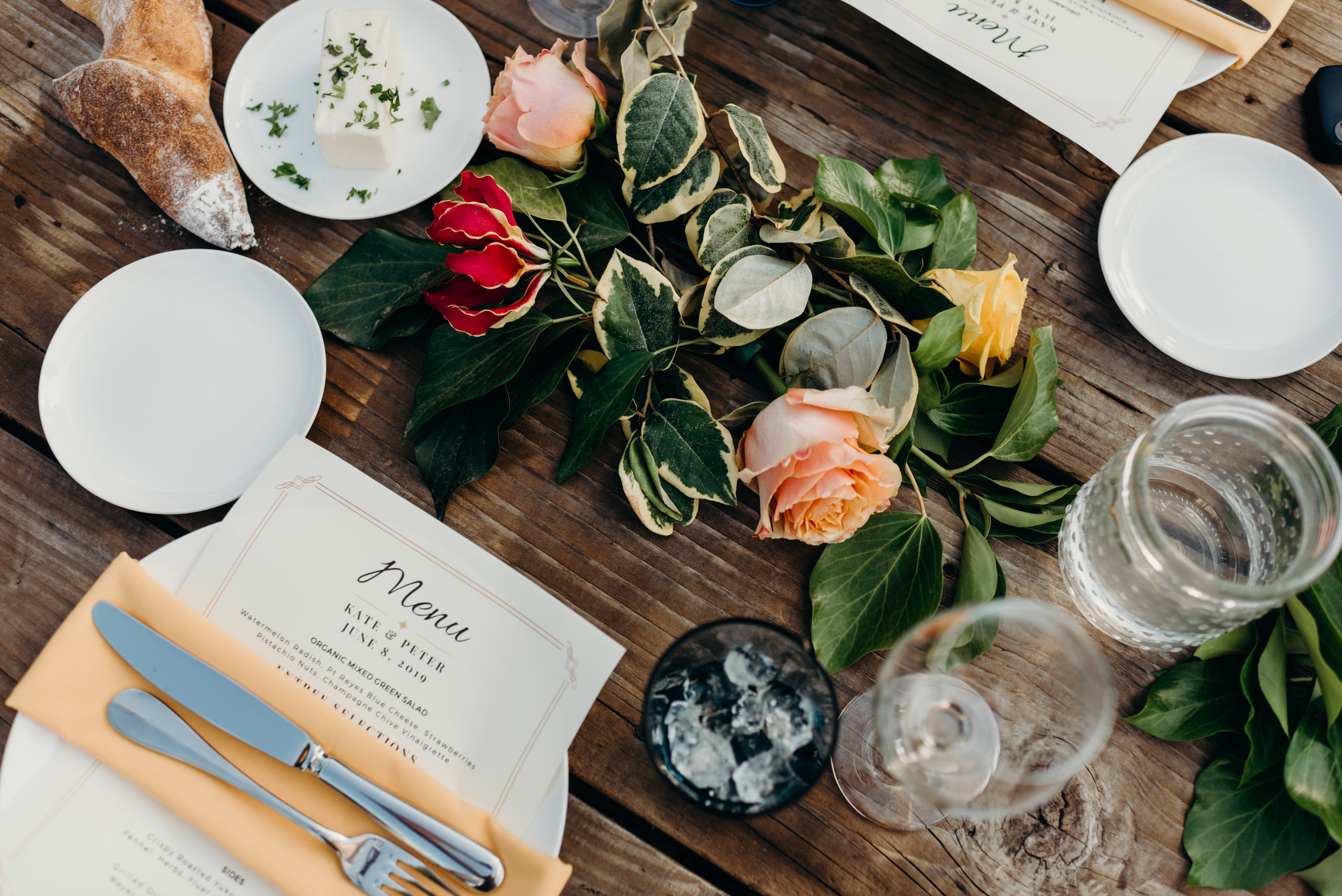 Ceremony and Reception Details - The personal touches that make the day yours.