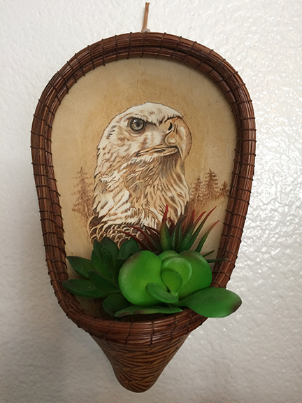 Eagle Planter with Robin - for All Skill Levels, Limit 15 studentsSeptember 7, 2019