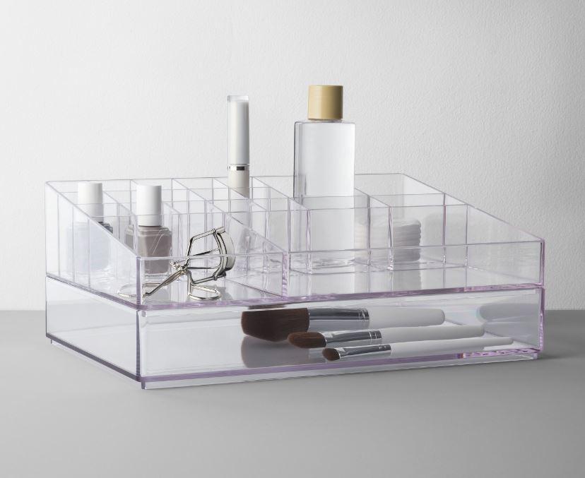 target acrylic makeup holder.JPG