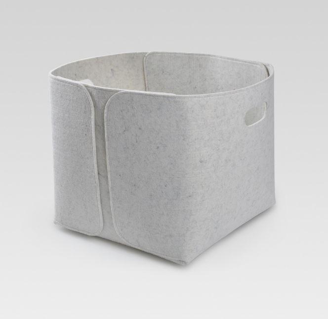 target felt bin - gray medium.JPG