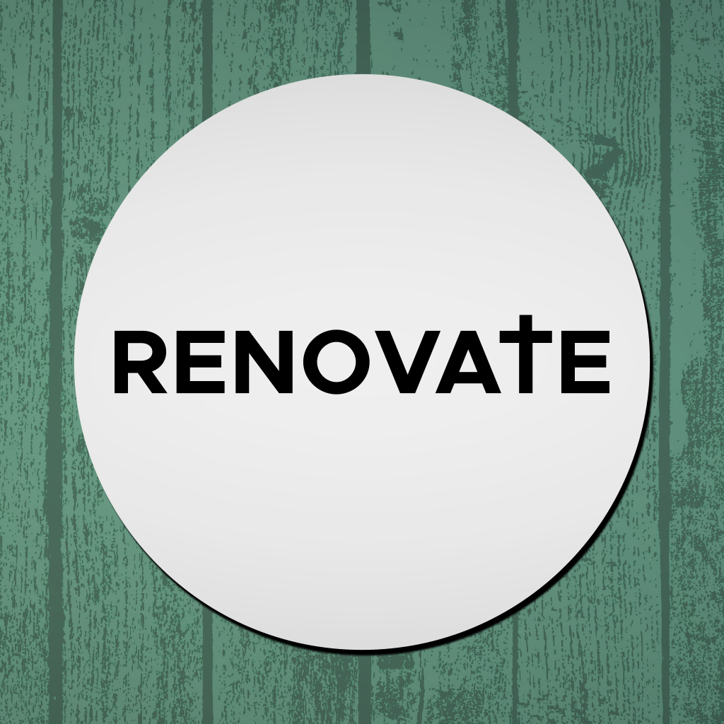 Not too late to Renovate