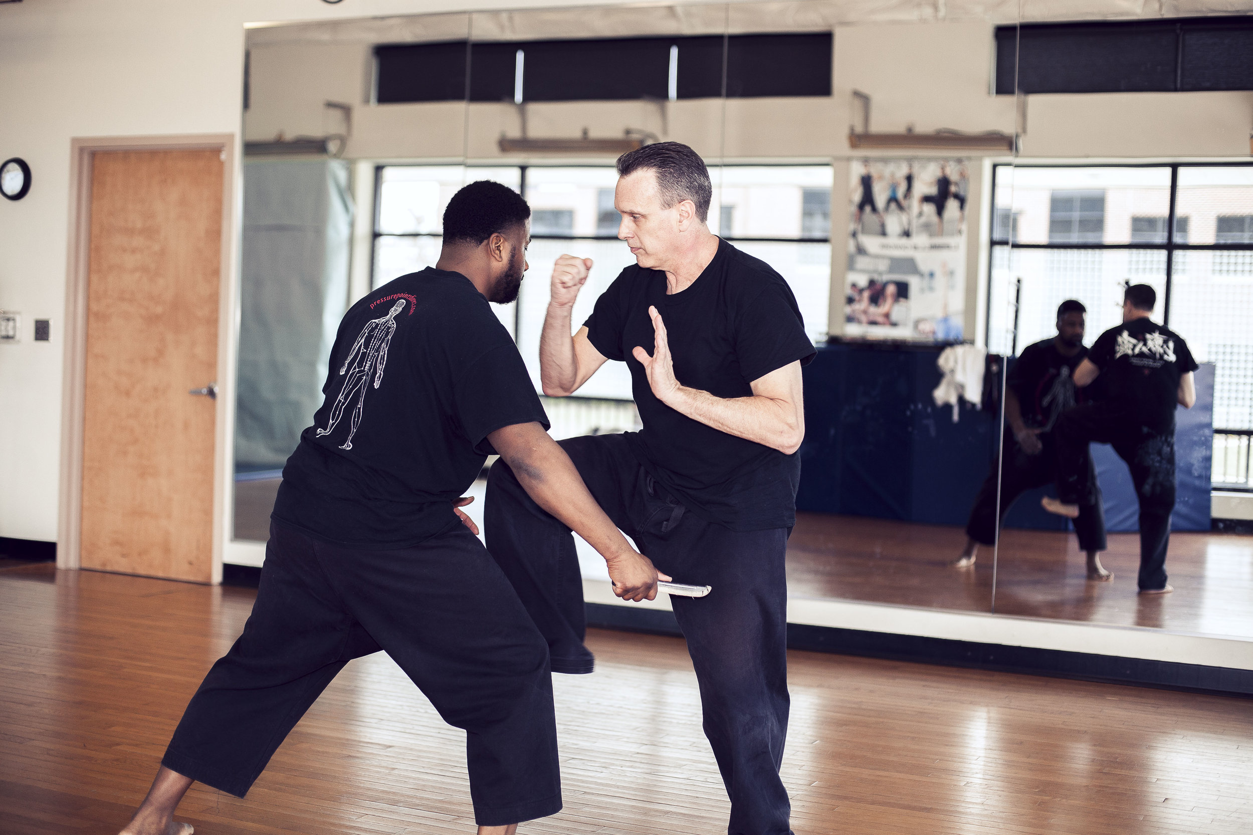 Self Defense Workshops - Our Self Defense Program incorporates simple self defense techniques against a variety of