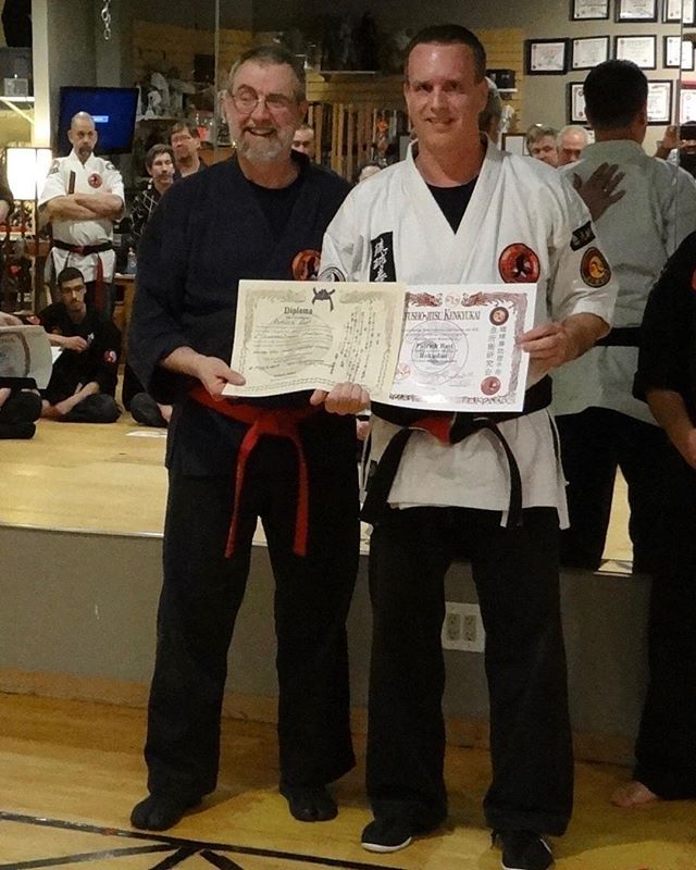 Honored to have been promoted this past weekend. Kjk-karate.com