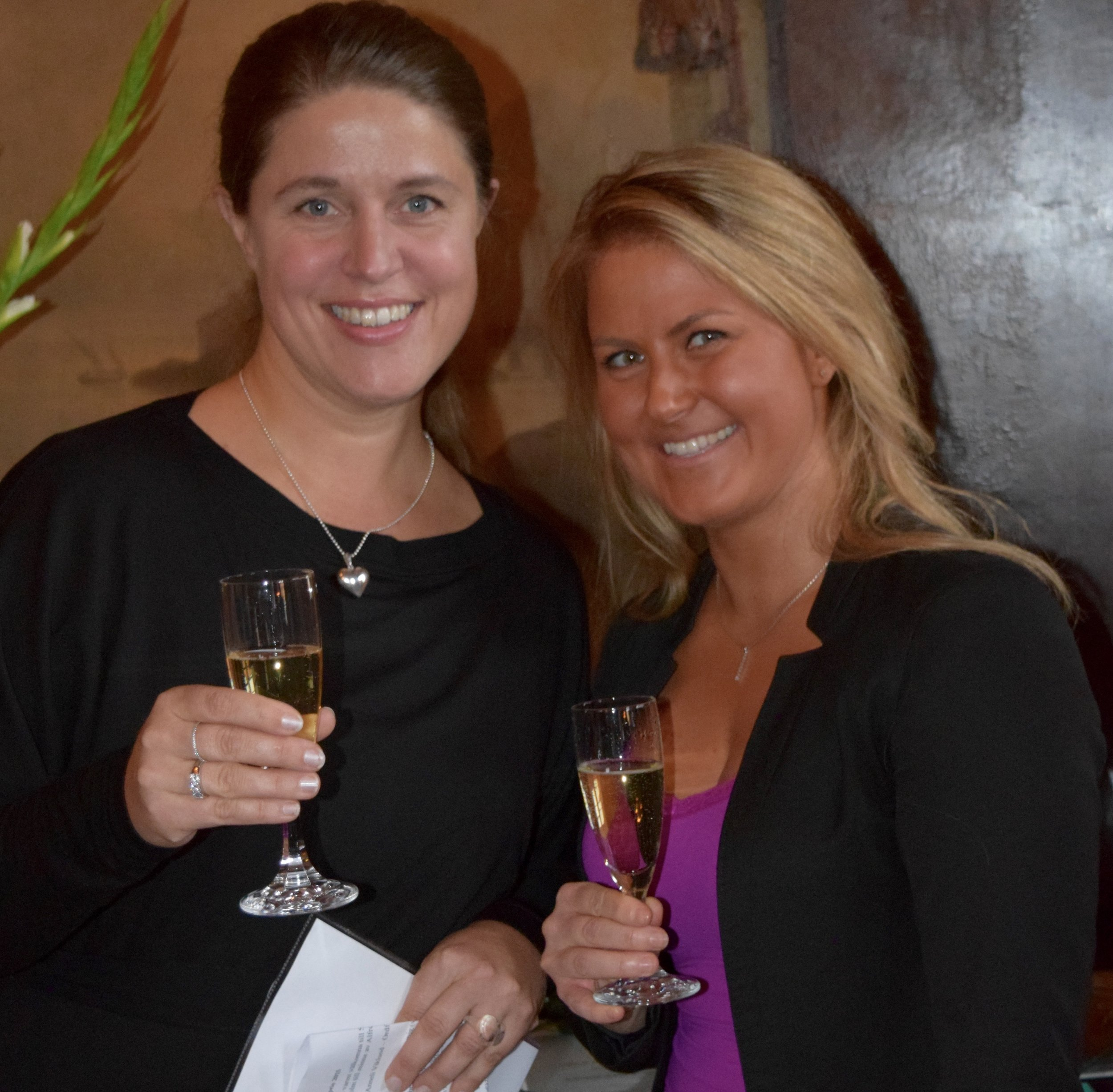 A great moment with the talented Anneli Viklund at the SKAPA award ceremony celebrating 30minMBA's journey to date.