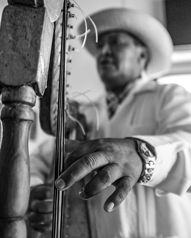 Flashback to Cholula, Mexico. A musician at lunch.