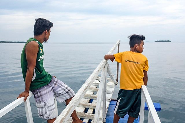 View en route to the Canigao Island.