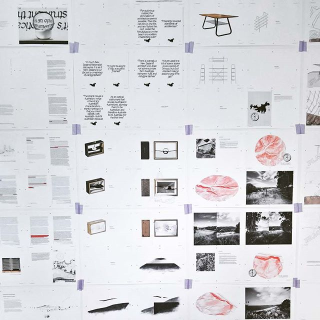 Woof. #draftthesis #print #architecture #thesis #redecoratingthewall #satisfying