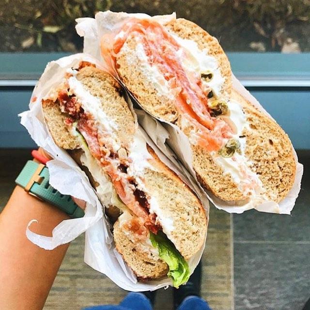 Reposted #baaagel from @tayo_k 😋 thanks for the pic! . . . . . #bostonfoodies #bostonfoodie #eastcoastfoodies #breakfasttime #coffeeshop #bagelshop #foodstagram #foodie #bagelsandwich #dogfriendlypatio #foodphotography #foodphoto #bageldog #glutenfreebagel #glutenfreeeats #lox #loxandcreamcheese #avocadotoast #bestfoodboston #bostonfood #dailyfoodfeed #collegefoodie #collegeeats #harvard #harvardsquare #harvardyard