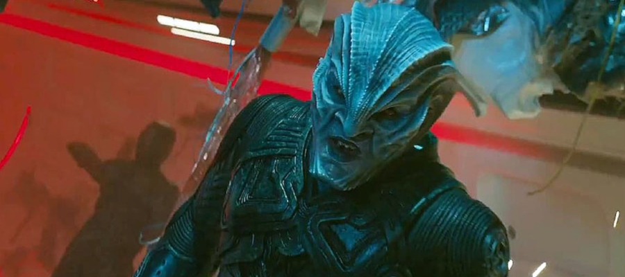 Idris Elba makes for a memorable and menacing adversary for the crew of the  Enterprise  as Krall.