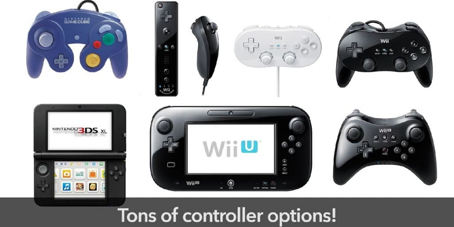 With the series' widest breadth of control options available in this game, it should be  very  easy to find whichever device works best for you.