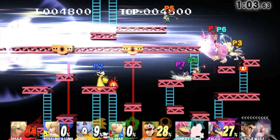 In a first for the series, up to eight players can play locally on one console in stages that have been adjusted to contain the sheer pandemonium brought about by these kinds of matches.