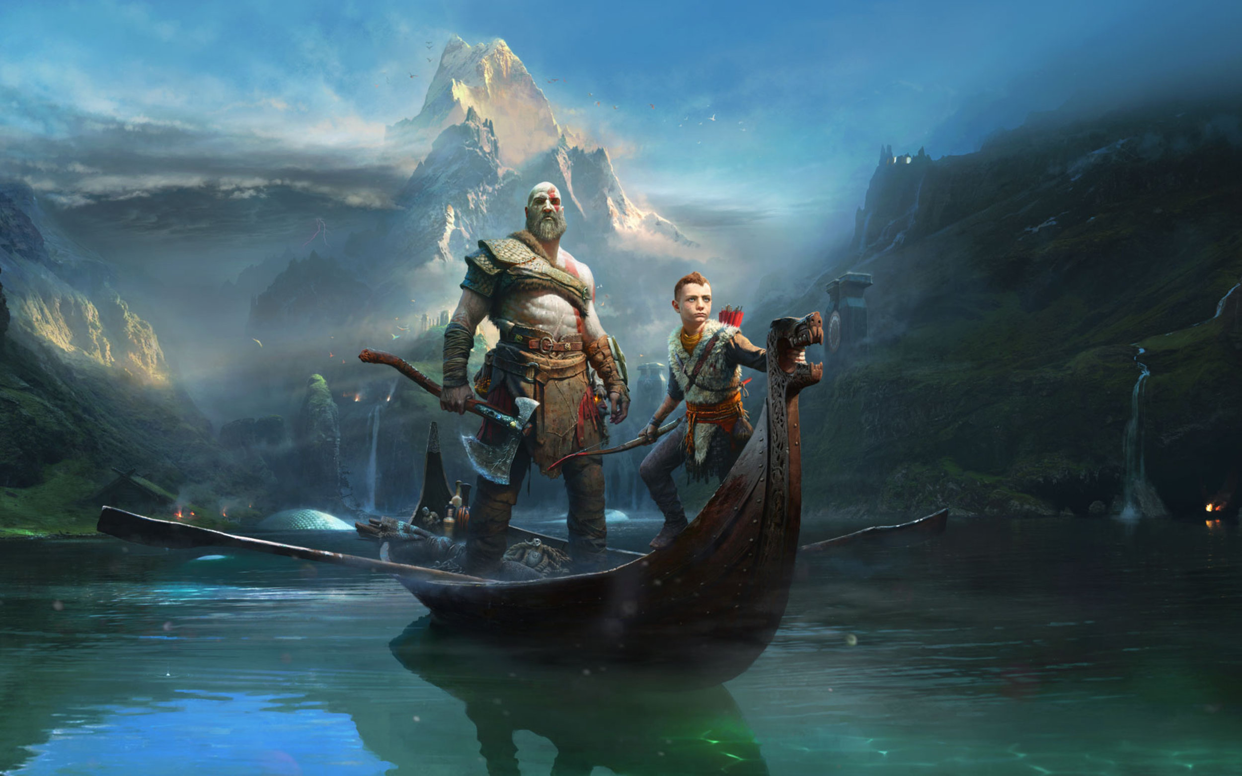 A new beginning... - Kratos returns triumphantly in a game that moves beyond previous series trappings, and elevates the whole experience to a whole other level beyond what it was.