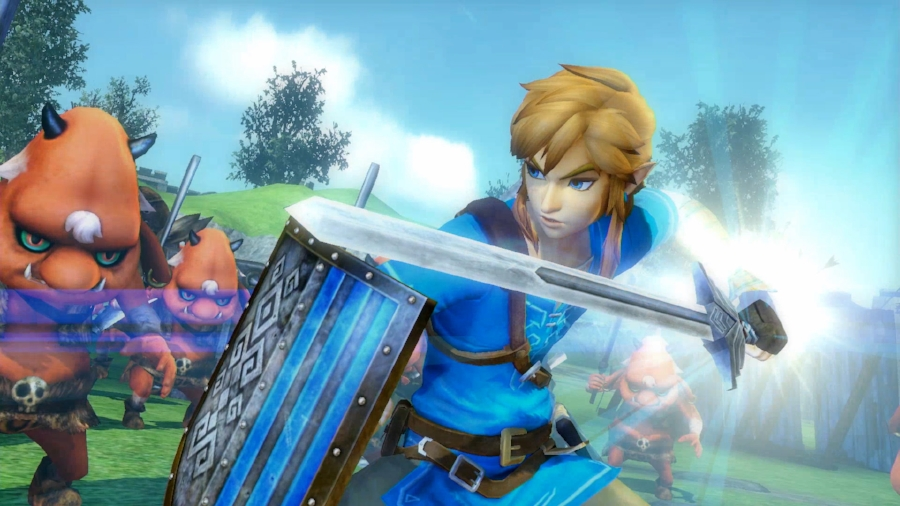 In addition to the advantages of the Switch hardware itself, this version of the game features better performance, a noticeable visual upgrade, and the inclusion of some content from  The Legend of Zelda: Breath of the Wild .