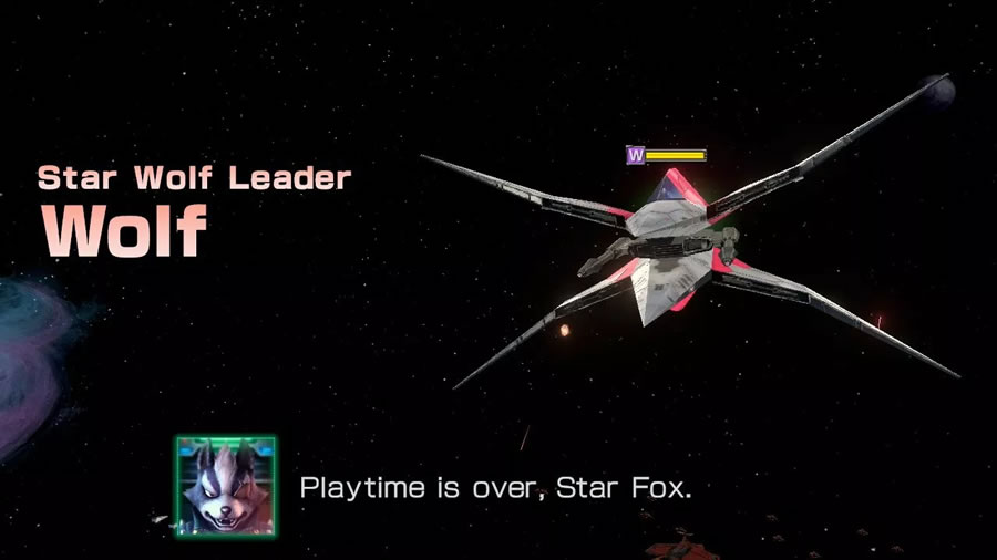 Returning to wreak havoc across the Lylat system on behalf of Andross, Star Wolf makes its return to be a thorn in the side of the whole Star Fox team. Their return is a welcome one, though, with just as much kinetic, frenzied action in their dedicated dogfights as the best encounters with them in previous titles.