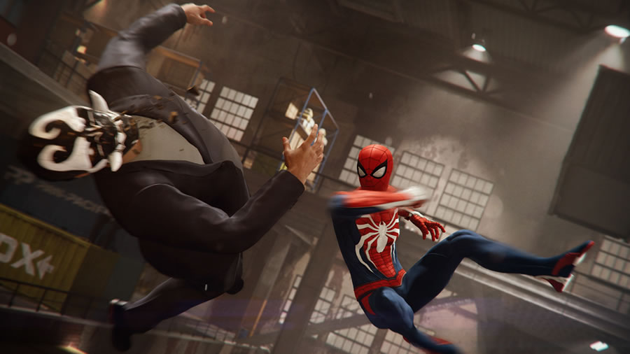 In addition to very evocative combat moves and gadgetry options,  Marvel's Spider-Man  also allows you to take the stealthy approach with enemies in a way that would absolutely give Batman a reason to develop webs of his own. They're  perfect  for stealthy takedowns and distractions.