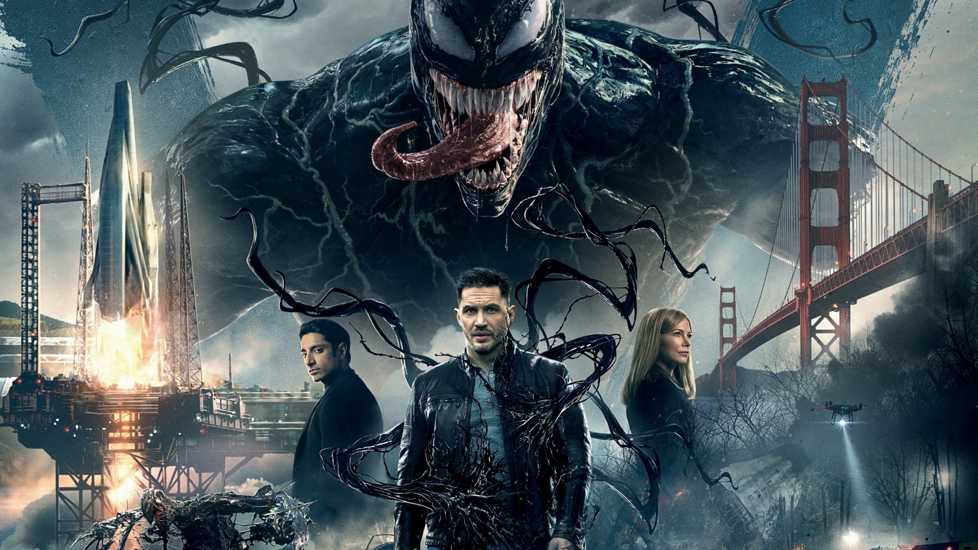 Fun with solo symbiotes… - Although the philosophy behind its creation is troubling, Venom makes for a surprisingly fun – if simplistic – comic book movie.