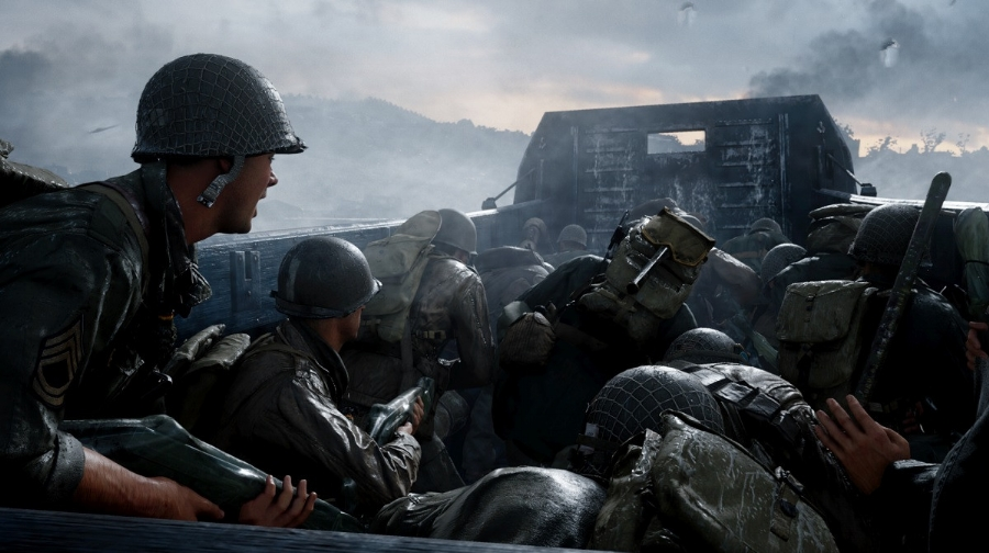 Starting things off with one of the most legendary battles of the war, the beaches of Normandy on June 6th, 1944 help set the stage for the level of visceral brutality the developers at Sledgehammer aim for in its depiction of the violence of World War II.