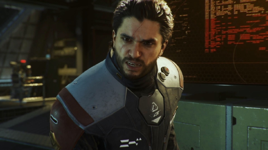 Settlement Defense Front (SDF) Rear Admiral Salen Kotch, played with menacing glee by  Game of Thrones  actor Kit Harington, makes for a solid antagonist with actual character work that allows you to focus your ire on bringing him down. He's not exactly the series' best villain (that's still  Modern Warfare  2 and 3's Makarov), but he fits the story of  Infinite Warfare  well.