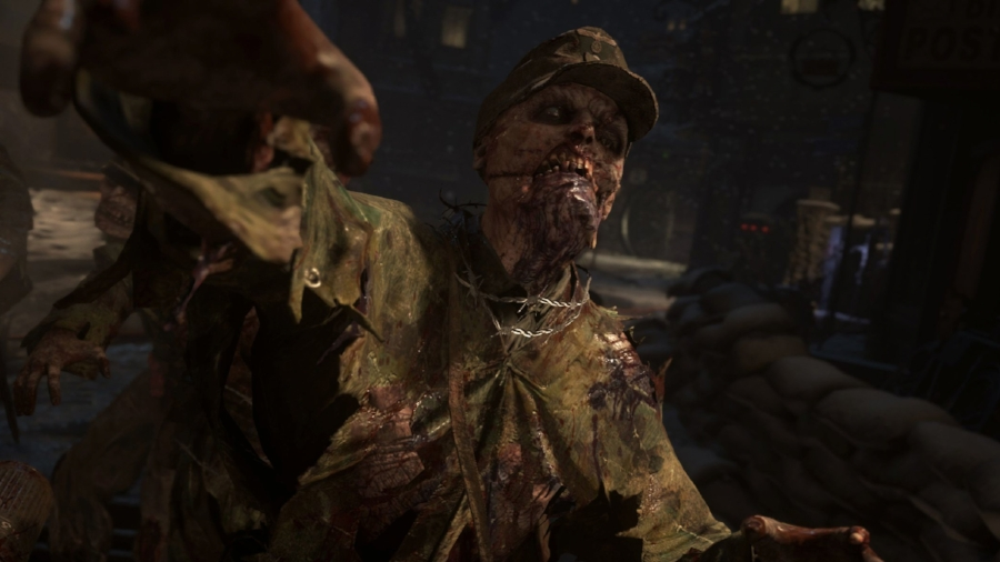 'Nazi Zombies' returns to the series for the first time since 2008's  World at War , and though it takes a  slightly  more serious approach to its material, it's still got a decent helping of detectable camp. It makes for some pretty solid fun, especially with friends.