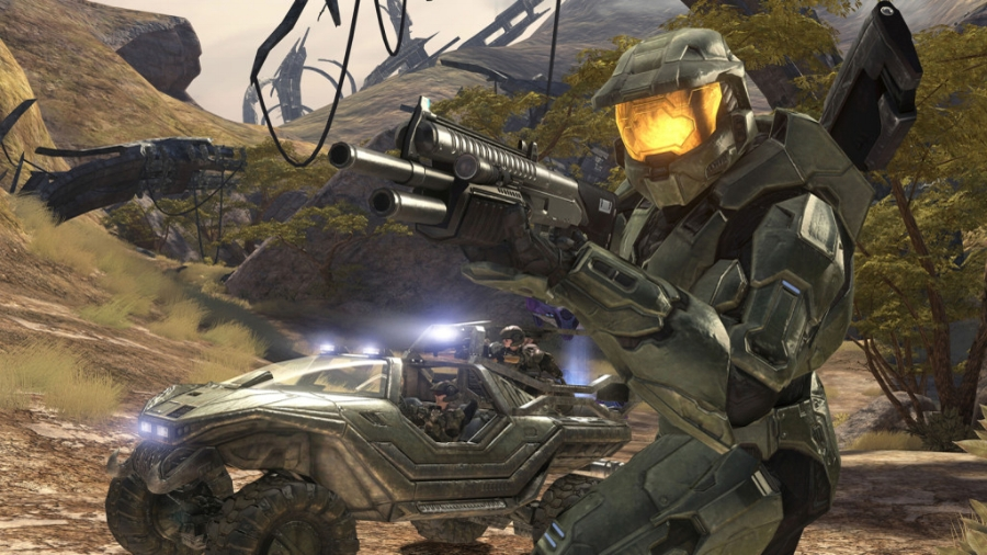 Although a more direct port of the first HD-game of the series,  Halo 3  looks better than ever with upgraded resolution, an enhanced frame-rate, and even more fluid gameplay.