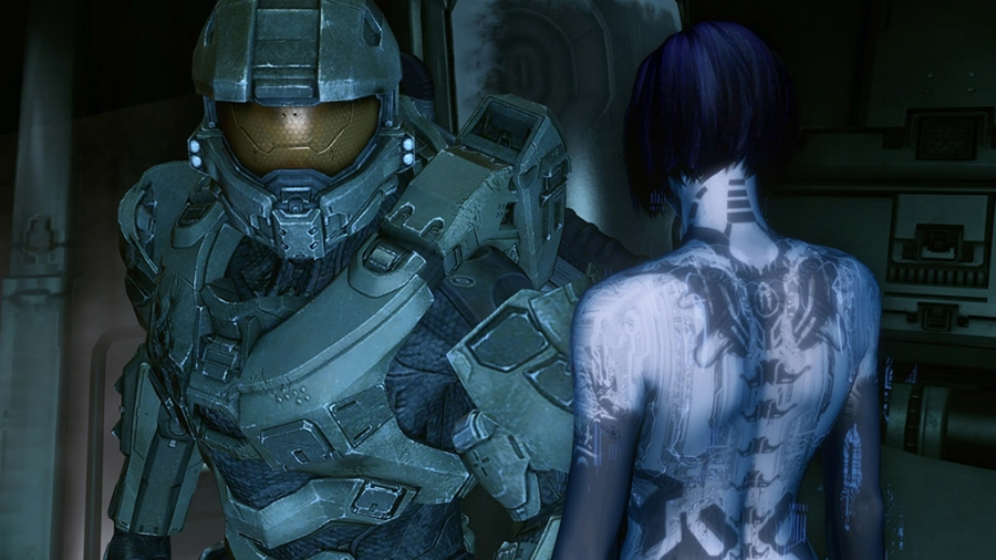 Halo 4  takes a rather different approach to the storytelling of the series, making Master Chief a more active participant in the narrative. This game also features his partnership with Cortana at the center of the plot, making for the series' most character-driven story to date.