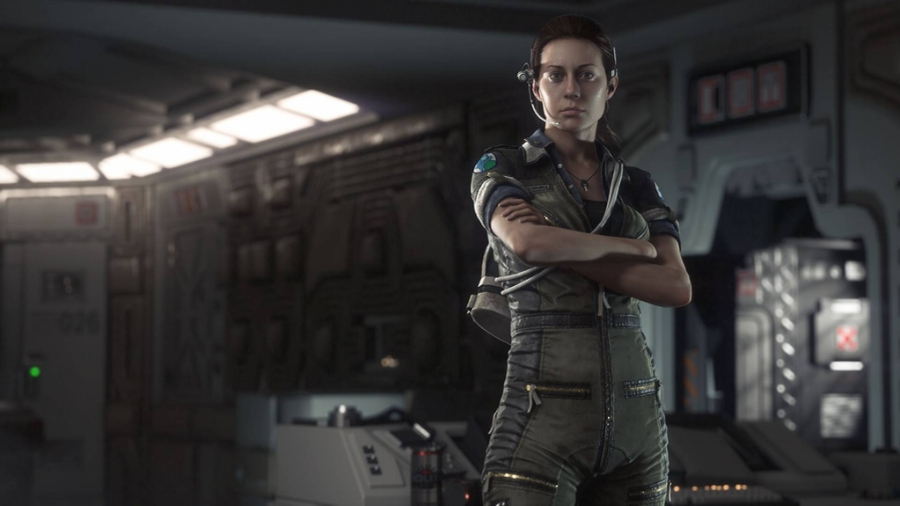 Amanda Ripley is very much her mother's daughter, and makes for an awesome protagonist in the game.