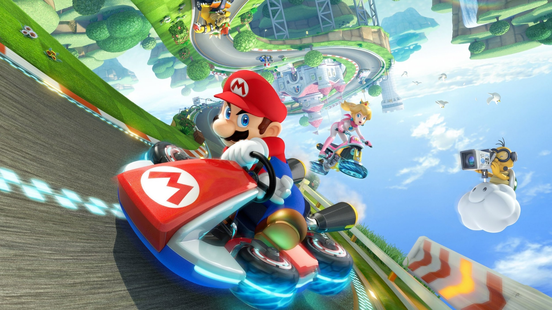 Full-speed fun… - The long-running kart racing series from Nintendo hits a series high in its eighth entry.