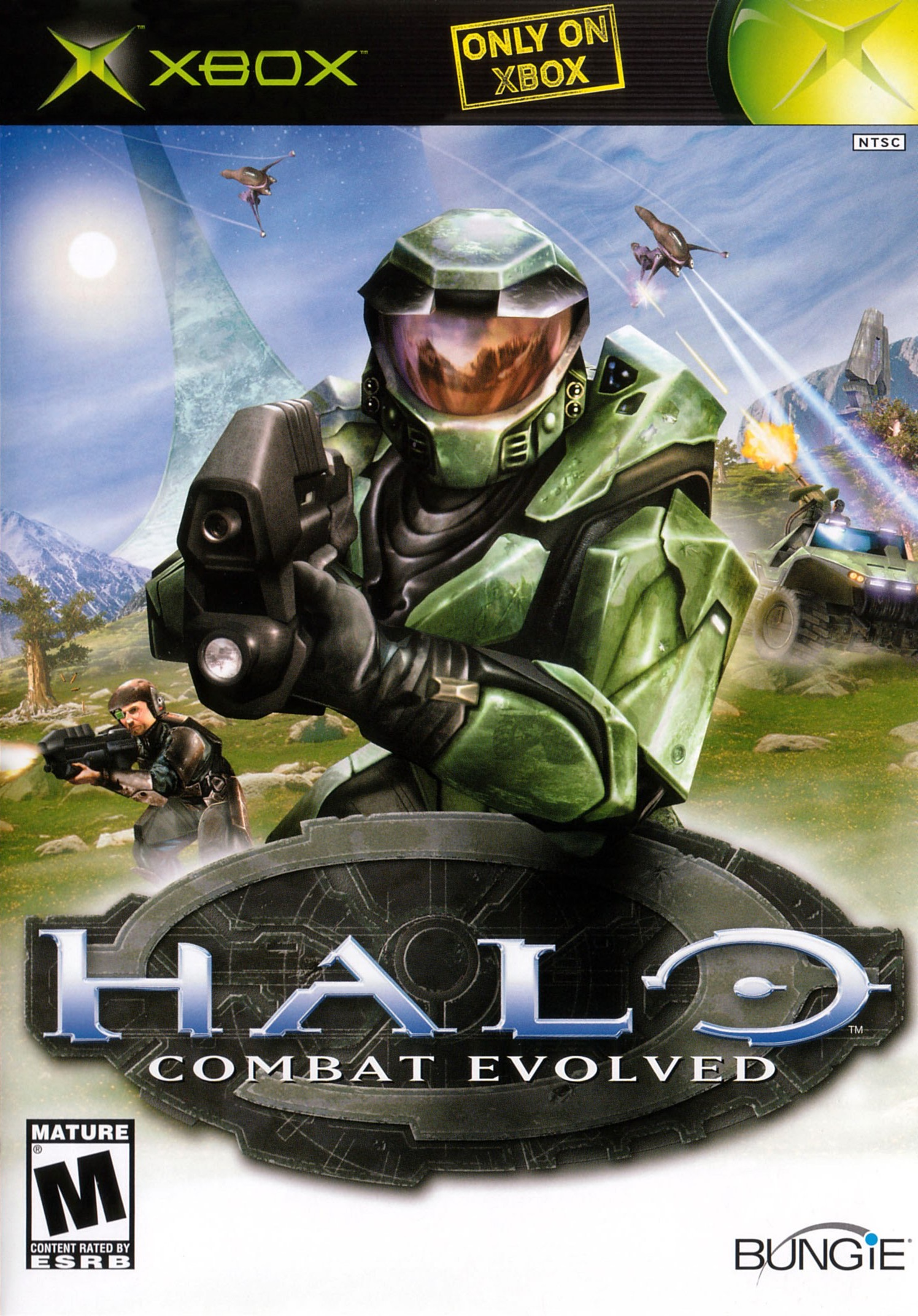 Bungie helped revolutionize the first-person shooter with  Halo: Combat Evolved , which automatically puts a lot of pressure on their next original creation.