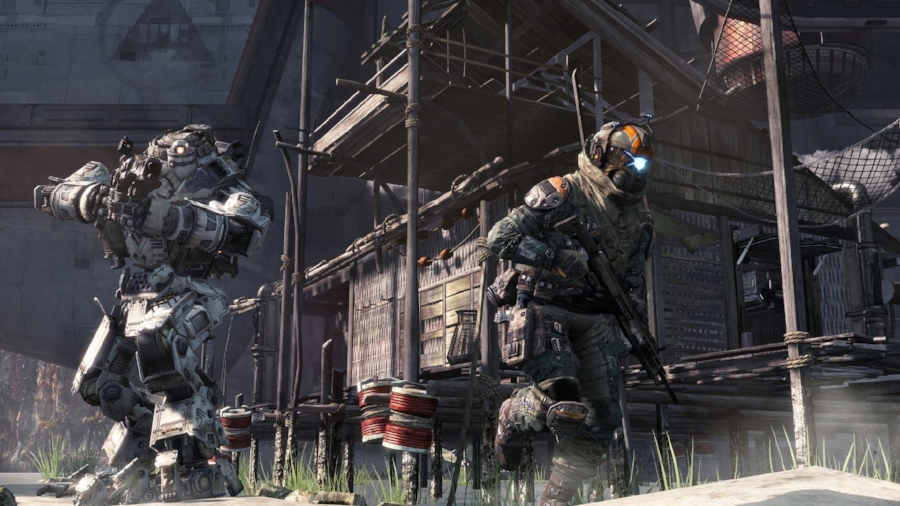 While perhaps not as graphically advanced as some may hope,  Titanfall  is still beyond the capabilities of the last console generation, and has it where it counts.