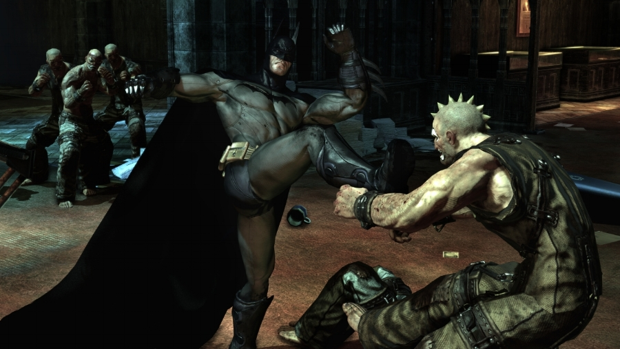 "The game's innovative ""freeflow combat system"" makes you feel like the Dark Knight, giving you the advantage against dozens of opponents at once."