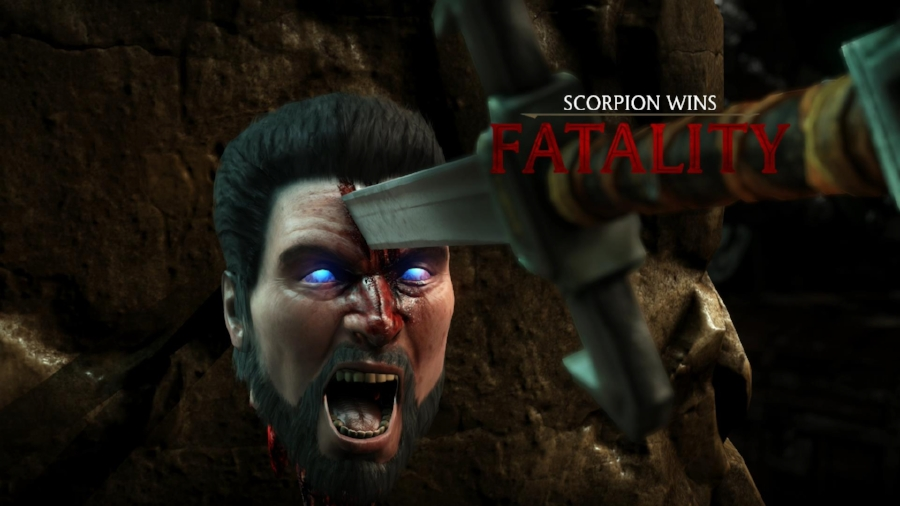 Never has something as gruesome as  Mortal Kombat 's fatalities looked so good.