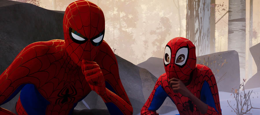 After watching his universe's original Spider-Man die, Miles Morales (Shameik Moore) finds a unique opportunity: learn the ropes concerning his new powers from an alternate universe's Peter Parker (Jake Johnson), who finds himself in Miles' world after the Kingpin tries to locate some important people to him from other universes.