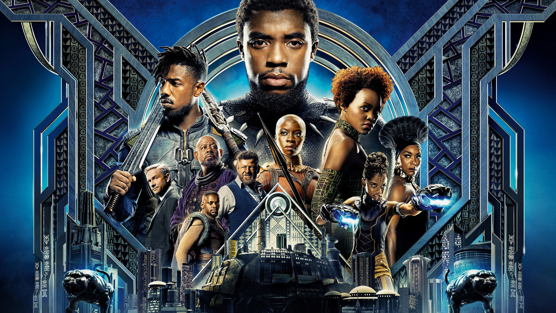 Cinematic ambition meets visual artistry… - The T'Challa-led entry in the Marvel Cinematic Universe represents a lot of milestones, but the sheer artistry on display makes it one of the MCU's best.