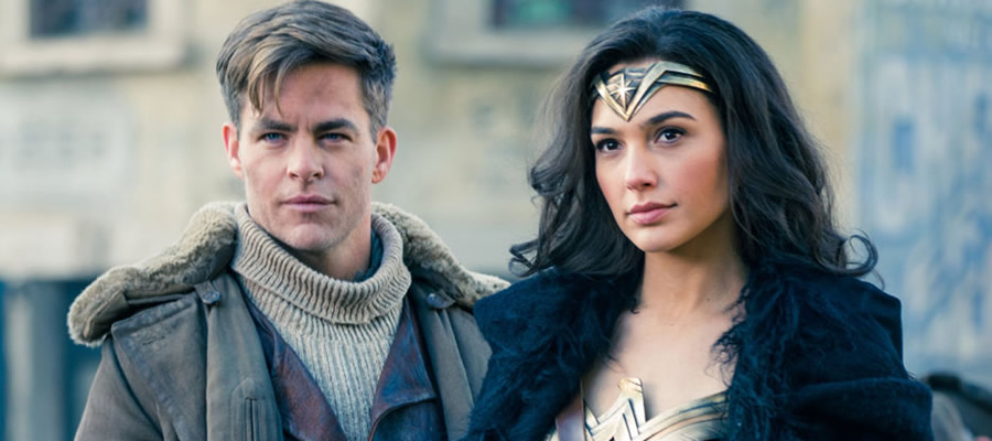 U.S. covert agent Steve Trevor (Chris Pine) and Princess Diana of Themyscira (Gal Gadot) unite to try and bring an end to the Great War plaguing the Earth in the early 20th century. The period nature of  Wonder Woman  is anchored beautifully by the relatable chemistry that Gadot and Pine bring to their characters.