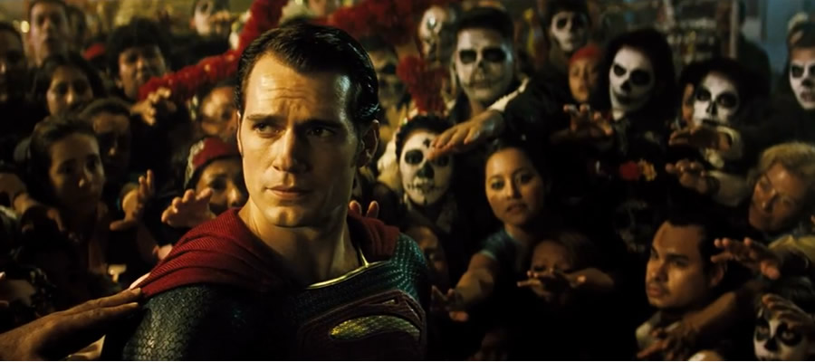 In another beautiful example of the film's cinematography, this depiction of the world's perception of the Man of Steel comes close to showing the hope he inspires at his best. It ultimately misses the mark, though by lacking any engagement from him with many people he saves beyond stoic and sterile posing.