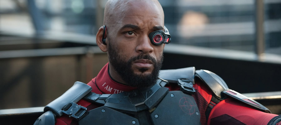 Floyd Lawton, aka Deadshot, is imbued by humanity through a solid performance by actor Will Smith. He could've used some better material to work from, though.