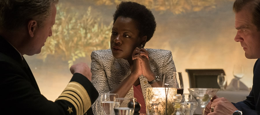 One of DC Comics' most notorious presences, Amanda Waller is adapted into live-action for the second time with unwavering formidability by acclaimed actress Viola Davis.