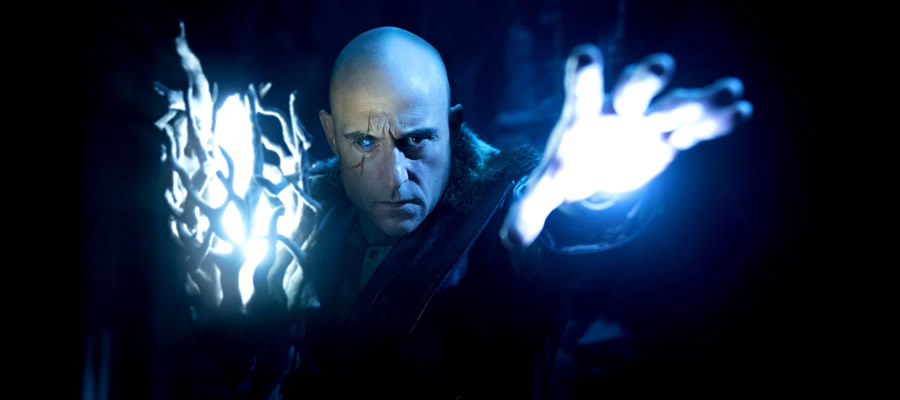 Mark Strong plays his second DC Comics-based supervillain in eight years by taking on the role of villainous Doctor Sivana, an entitled magic-seeker who has devoted his life to proving the wizard Shazam wrong by trying to take magical power for himself.