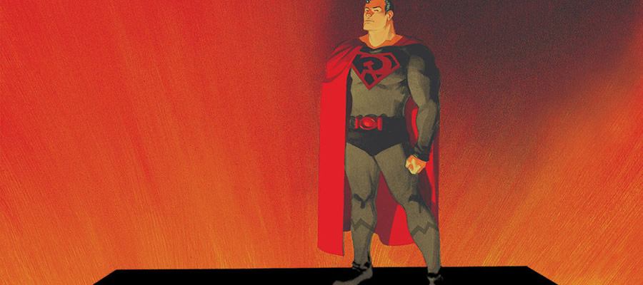 "You've likely heard from some of your comics-reading friends that ""Red Son"" is one of the best Superman stories they've ever read. The trouble is that it's not a Superman story. Art by Dave Johnson."