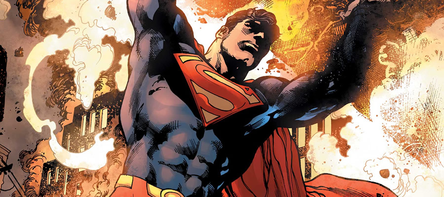 The big guy himself, in his element and true to form, is left out of his own conversations a little too much for my liking. Art from Superman (vol. 5) #1 by Ivan Reis.