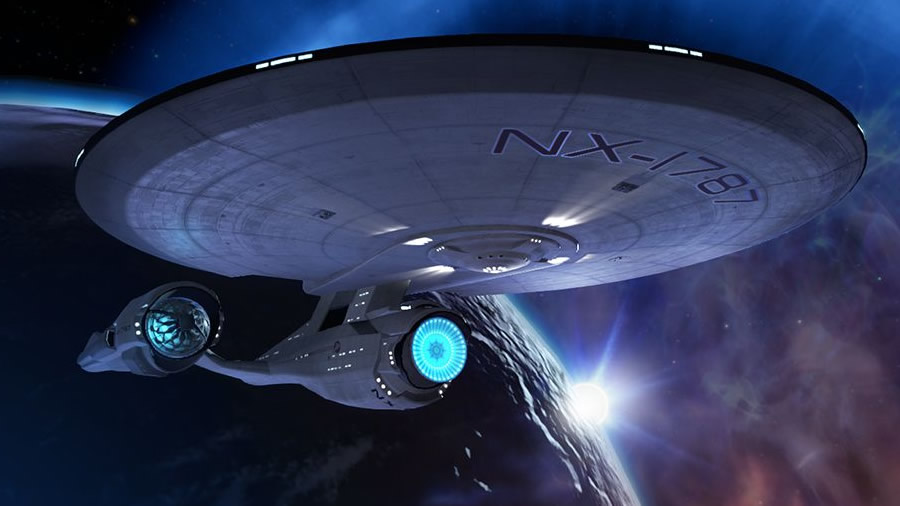 The USS  Aegis  is the primary setting of the main game, an experimental starship charged with exploring an uncharted region of space to find a suitable planet for a Vulcan colony.