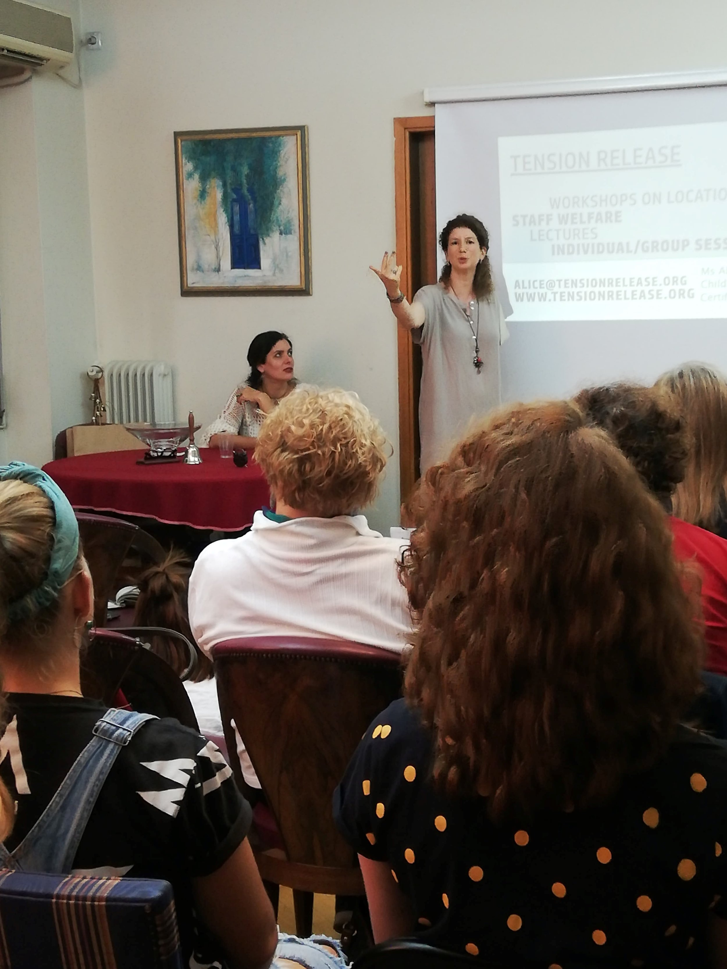 Lecture: Regaining Life after Stress or Trauma Nov 2019 Athens, Greece
