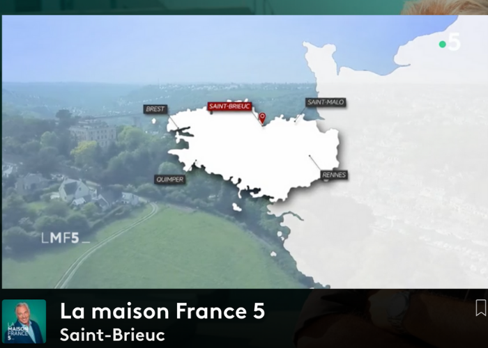 La maison France 5 : Emission du 14/06 à St-Brieuc