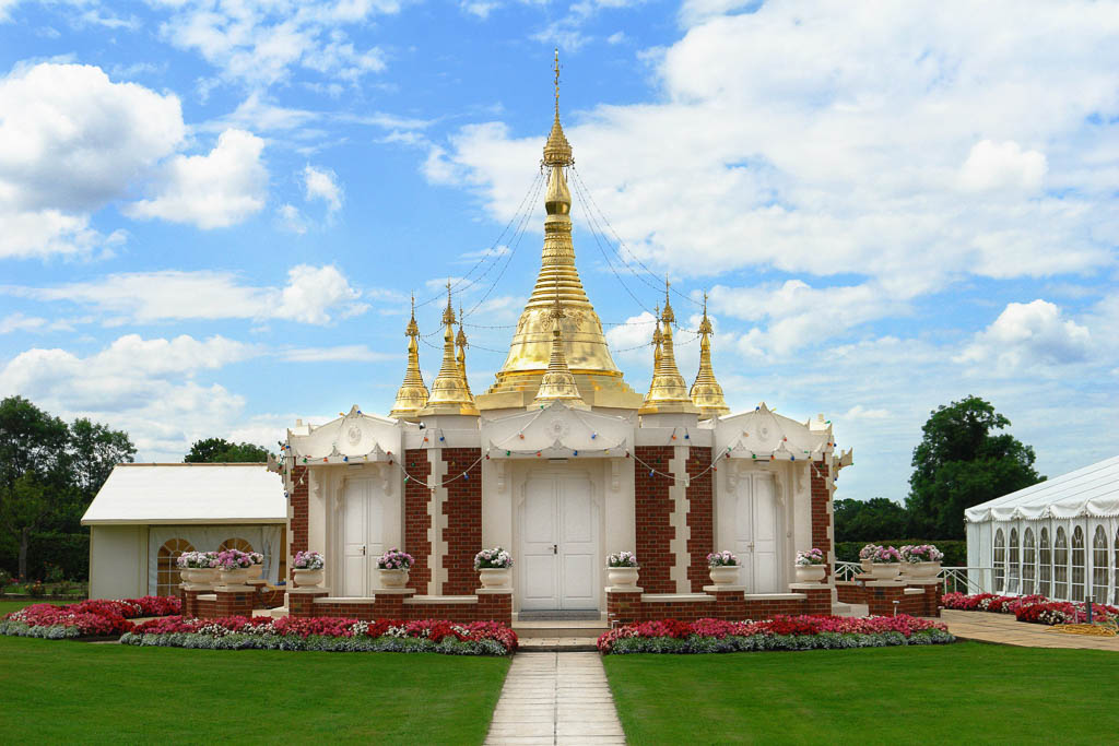 Light of the Dhamma Pagoda, Wiltshire, UK