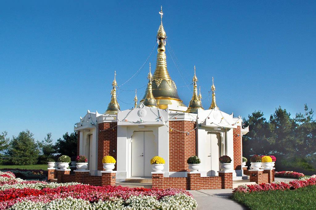 Light of the Dhamma Pagoda, Maryland, USA