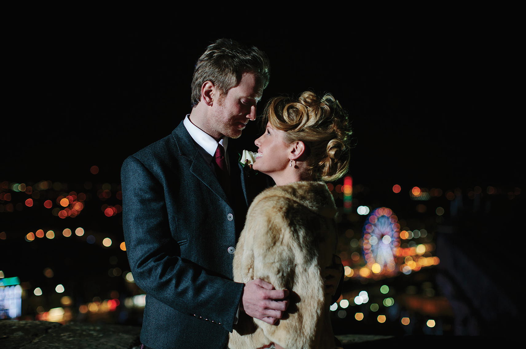 Kellie and Kevin at Edinburgh Castle by    Duke Photography