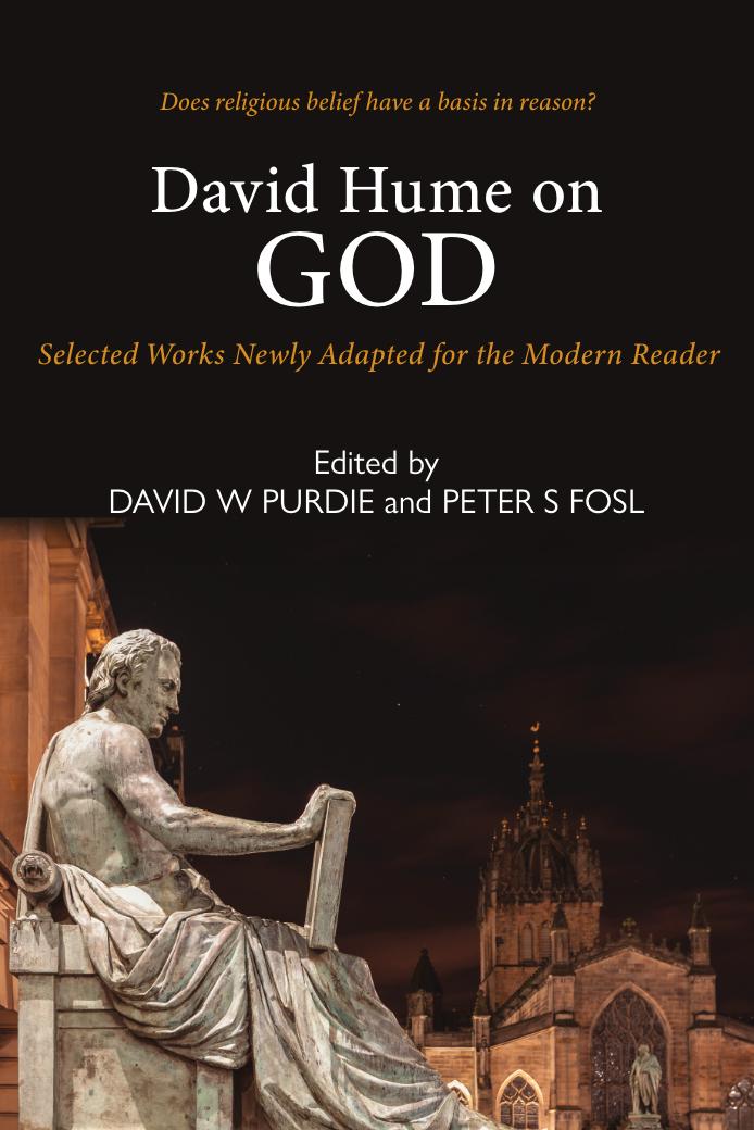 David Hume on God David Purdie & Peter Fosl 9781913025069 Luath Press.png
