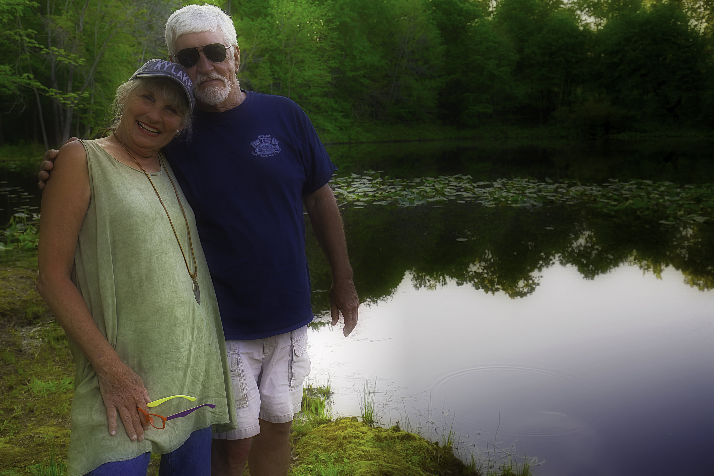 On Seaton Pond - The why brings about the story of