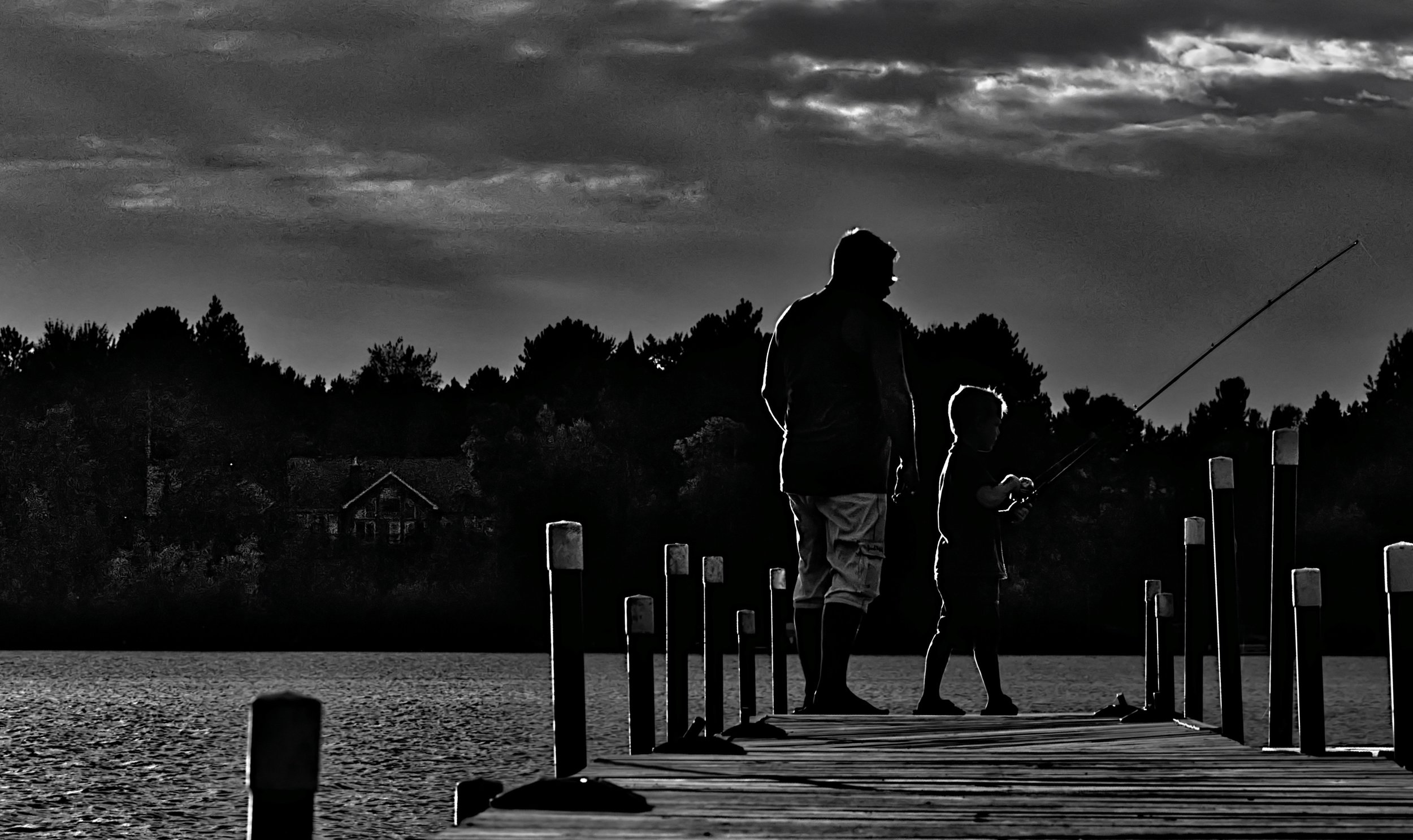 It's not about catching fish… - …it's about catching memories & time spent with loved ones.